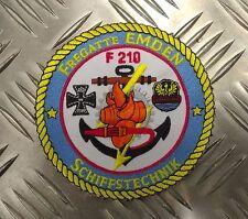 Genuine Aufnäher Patch Fregatte Emden Schiffstechnik Patch / Sew on Badge UMBA24