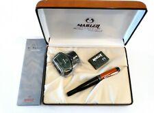 MARLEN HENRI MATISSE LIMITED EDITION FOUNTAIN PEN IN BLACK & SALMON WITH 18K NIB