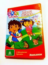 Dora the Explorer: Meet Diego Region4 DVD - BRAND NEW
