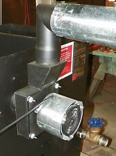 FLUE EXHAUST REAR MOUNT, Multi-Fuel, Negative Pressure