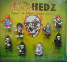 HOPPIN HYDROS THE BONE HEDZ FIGURES SET OF 8 NEW