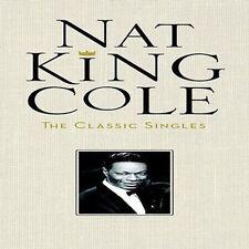 NAT KING COLE The Classic Singles Box set Original 4CD Set FACTORY SEALED!! NEW