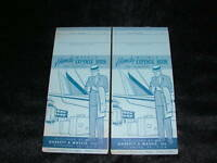 VINTAGE 1966 2 GARRETT & MASSIE EXPENSE BOOK TRAVELERS