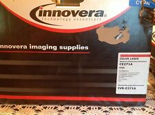 Innovera IVR-E271A replaces HP 650A  Cyan toner cartridge