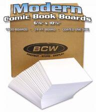 1 Case (1000) BCW Regular Comic Backing Boards - 6 7/8 x 10 1/2 - BULK