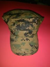 COVER GARRISON MARPAT WOODLAND CAMO  MILITARY  MARINE CORPS HAT SIZE X-SMALL
