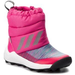 adidas RapidaSnow BTW Size 12 (Childs) Pink RRP £45 Brand New AH2605