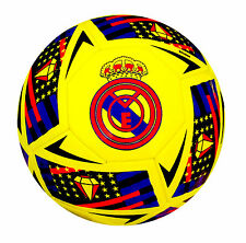 Real Madrid Football Top Quality Official Match ball Size 5, 4, 3 - Spedster
