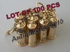 Brass Working LIGHT HOUSE Key Chain Collectible Marine Nautical Lot Of 100 Pcs..