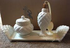 Elegant Porcelain Vanity Set
