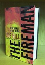 The Fireman - Joe Hill *Signed,Dated,Doodled & Signed Sampler*+ Flyer,BM & Photo