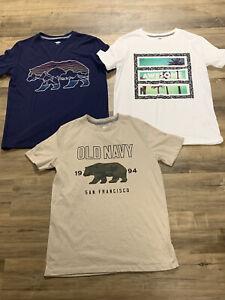 Lot Boys Old Navy Graphic T-shirts Xl 14/16 EUC