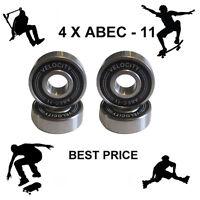4 Abec 11 608  Wheel bearings Skateboard scooter Quad inline Roller skate 5 7 9