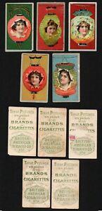Cigarette Trade Cards: Beauties - B.A.T Lantern Girls