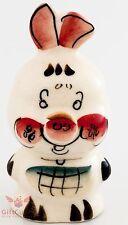 Piglet from Winnie the Pooh Gzhel porcelain figurine souvenir handmade