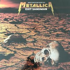 METALLICA 'EXIT SANDMAN' LTD EDT SAND COLOURED VINYL LP  - NEW + SEALED