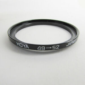 HOYA 49-52mm STEP-UP RING STEPPING FILTER ADAPTER