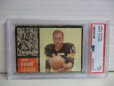 1962 Topps Bart Starr PSA PR 1 Football Card #63 NFL HOF SP