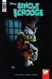 UNCLE SCROOGE 1 GABRIELE DELL'OTTO BAH HUMBUG X-MAS VARIANT LTD 3000 PRINTED NM
