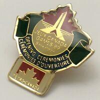 1989 Jeux Canada Games Saskatoon Petro Canada Olympic Pin F910