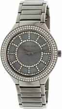 Michael Kors MK3410 Kerry Grey Crystal-set Dial Gunmetal-plated Ladies Watch