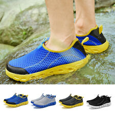 Mens Water Sandals Beach Slip On Shoes Breathable Casual Slippers Clogs Shoes UK
