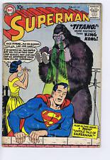Superman #127 DC 1959  (1st Titano)