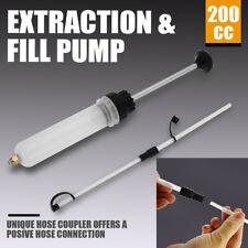 200cc Automotive Fluid Extraction & Filling Syringe Kit Vacuum Pump Oil Changer