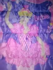 Girl's Vtg.1996 Barbie Sleeping Bag Slumber Bag by Mattel * (Great Condition!)