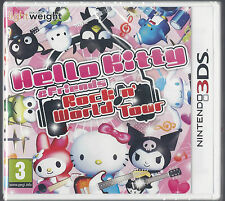 Hello Kitty & Friends Rock N World Tour (Nintendo 3 DS) Neuf