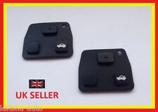 2X TOYOTA BUTTONS FITS AVENSIS CELICA PRUIS RAV 4 COROLLA MR2 KEY FOB RUBBER PAD