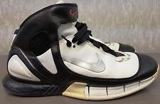 NIKE ZOOM AIR HUARACHE 2K5, WHITE/BLACK/Red, 310850 102, Men's Size 14, 2005