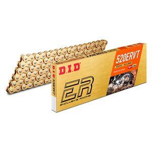 DID 520 ERVT Narrow Chain X Ring Gold Enduro Ktm Husqvarna Beta GasGas