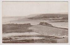 Cornwall postcard - The Breakwater & Chapel Rock, Bude