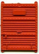 HO BOX CAR DOOR ORANGE NOS for GILBERT HO/AMERICAN FLYER HO TRAINS