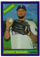 2015 Topps Heritage High Number Chrome Purple Refractor RC #522 Anthony Ranaudo