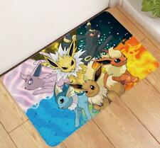 Pokemon EEVEE Sylveon Glaceon Leafeon Antiskid House Home Door Floor Mat Rug