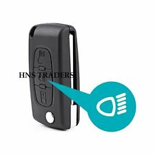 3 Button Flip Remote Key Case Blade For Citroen C3 C4 C5 C6 Picasso + logo A27