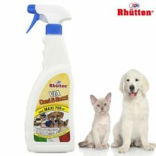 Spray Via Cani e Gatti Repellente Disabituante Allontana Animali Rhutten 750 ml