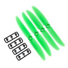 5x4 GEMFAN Quad Prop CW / CCW 4PK-GREEN ABS 411552