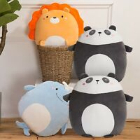 Soft Plush Toy Hugging Pillow Cute Animal Throw Pillow Stuffed Animal Doll Toy