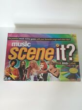 Scene It? Music Edition DVD Trivia Game *Partly Sealed*  **SAME DAY DISPATCH**