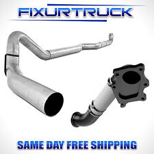 "MBRP 4"" Exhaust For 01-04 Duramax 6.6L  w/ MF 15398 Down Pipe"
