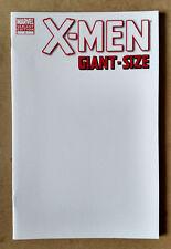 X-MEN GIANT SIZE #1 BLANK VARIANT FIRST PRINT MARVEL COMICS (2011) WOLVERINE