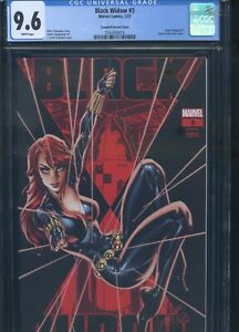 Black Widow #3 CGC 9.6 Campbell Glow-in-the-Dark Variant Cover
