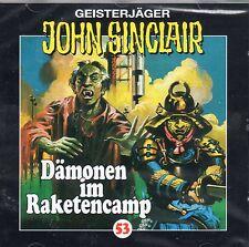 JOHN SINCLAIR - Teil 53 - Dämonen im Raketencamp - AUDIO CD - NEU OVP