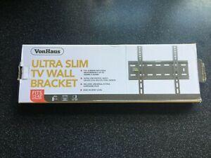 VonHaus TV Wall Bracket Ultra Slim