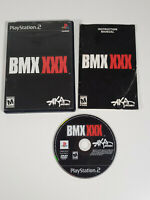 BMX XXX (Sony PlayStation 2, 2002 PS2) - Complete w/ Manual, Tested