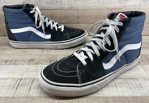 VANS High Top Sk8-Hi Slim Skate Shoes Sneakers Men's sz 10.5
