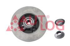 2 Bremsscheiben hinten mit integriertem Radlager BS6015